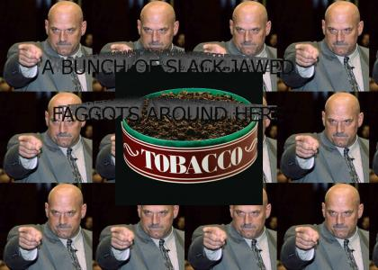 Jesse Ventura on: chewing tobacco