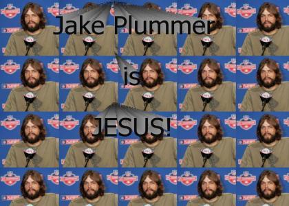 Jake Plummer is Jesus