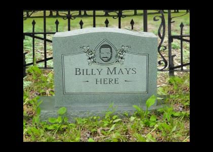 His Tombstone