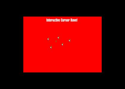 Interactive Animated Cursor Rave