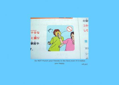 Wii safety guide... TRANSLATION (4.0)