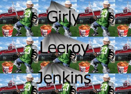 Girly Leeroy Jenkins!