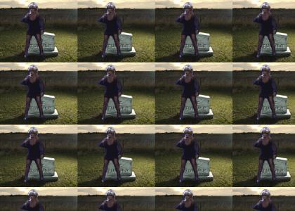 Rollin on a Gravesite