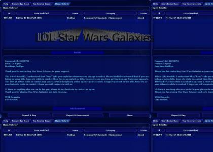 LOL Star Wars Galaxies