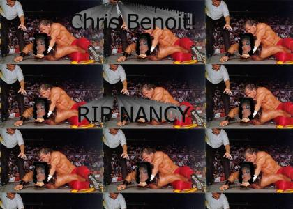 Nancy Benoit had one weakness.