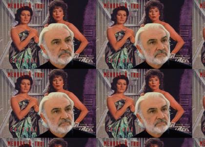 Connery's Menage a Troi - Caught You!