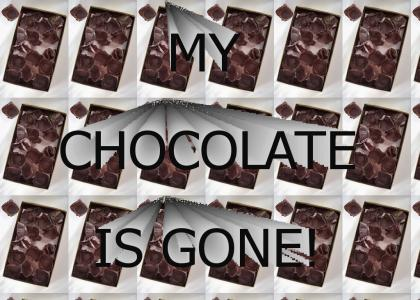 My Chocolate Is Gone!