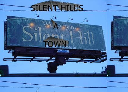 silent hill's a town