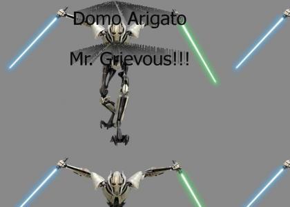 Domo Arigato Mr Grievous