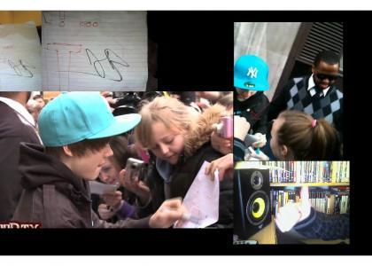Justin Bieber... CUNT