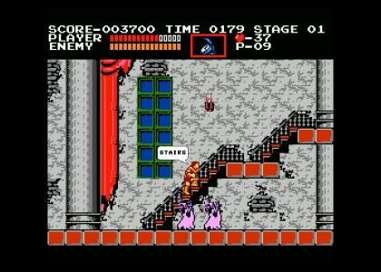 castlevania monsters have ONE weakness!!!!
