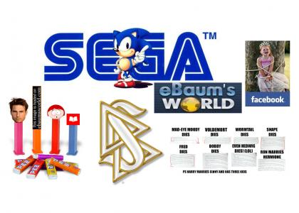 Funny attempt to get a lawsuit from Sega, ebaumsworld, the Church of Scientology, PEZ, Scholastic, and that ginger bitch