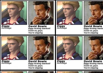 Xenosaga's Ziggy IS David Bowie