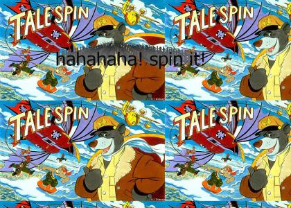 tailspin (Tale-Spin) Baloo kicks ass!