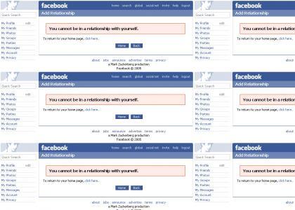 Facebook tells it like it is.