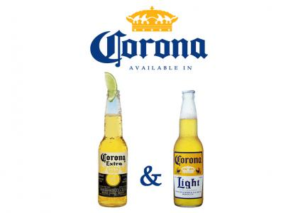 Corona: Available in...