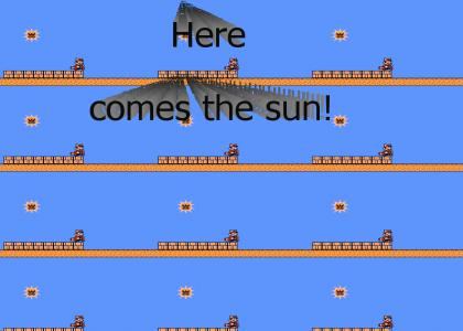 NEW Here comes the sun