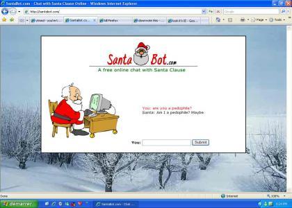 Santa pedo (let the downvote begin)