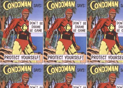 Condoman - Truth, Justice and Safe Sex