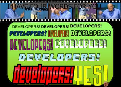 Developers Developers Developers Developers REMIX!