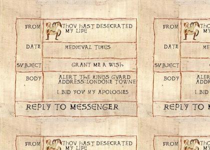 Medieval Myspace Emo Suicide