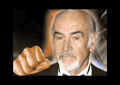 Sean Connery Punches the Keys into your Soul