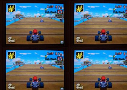 Secret Nazi Mario Kart