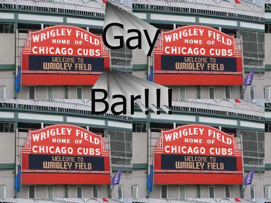 wrigley field worlds largest gay