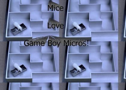Game Boy Micro Mouse