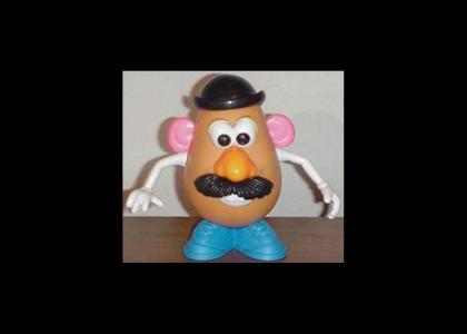 Mr. Potatohead stares into your soul (Now with bigger image)