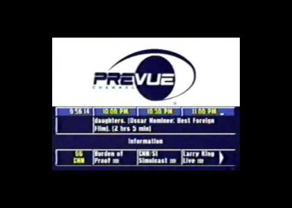 Prevue Channel (Before TV Guide Channel)