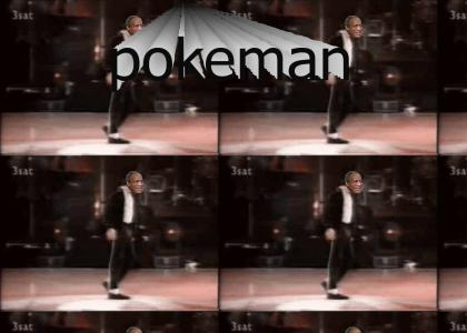 Cosby does the Pokeman Walk
