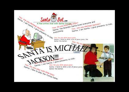 Michael Jackson=Santa