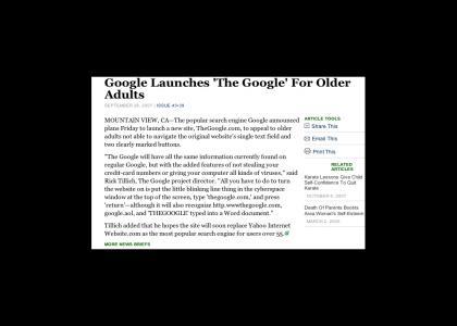 """The Google"" returns"