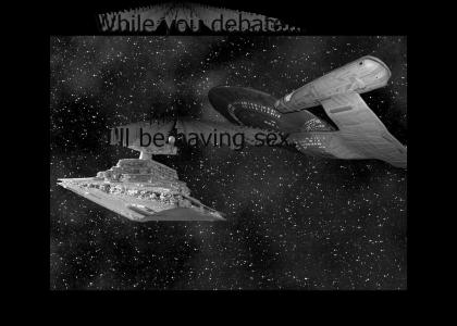 Star Wars Vs. Star Trek  - Who would win?