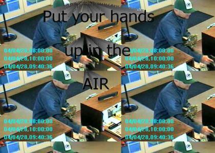 When techno heads rob a bank