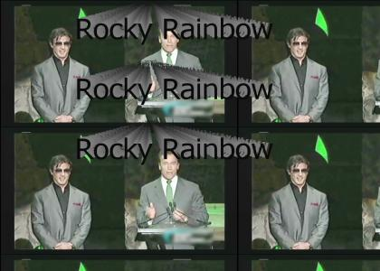 Sylvester Stallone in Rainbow