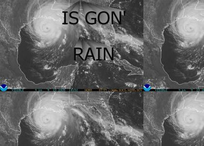 Hurricane Rita is coming, and...