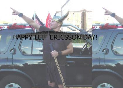 It's Leif Ericsson Day!