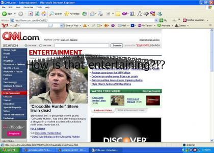 Steve's death entertains CNN
