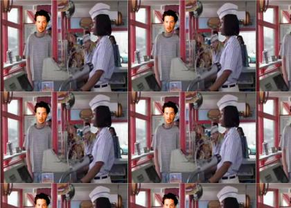 Keanu goes to Good Burger