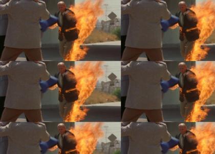 A Man on Fire Dances