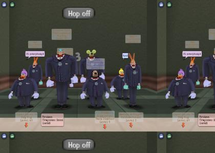 Average day in toontown (elevator style)