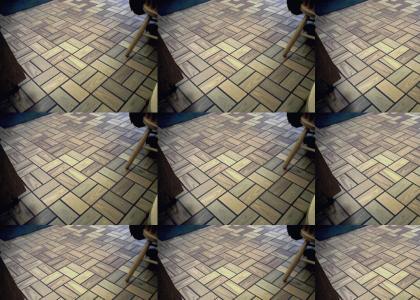 OMG Secret Nazi Floor Tiles
