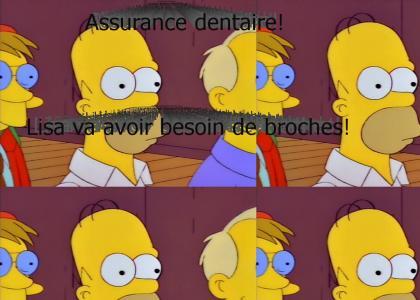 Assurance dentaire! (French Dental Plan!)