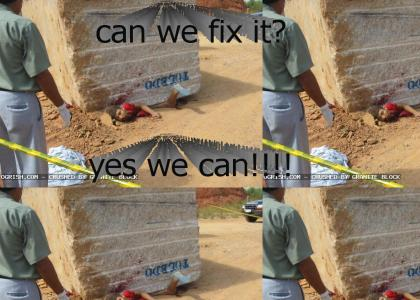 bob the builder fixes everything