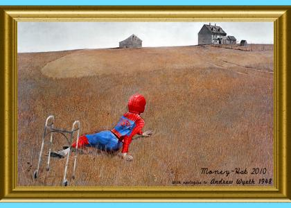 Crippled Spidey's World :(
