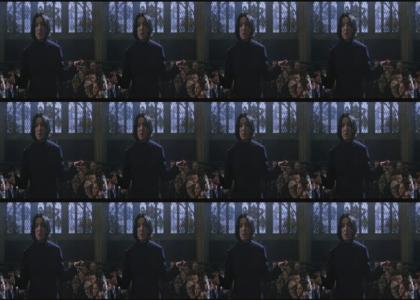 Snape Can Dance If He Wants To!