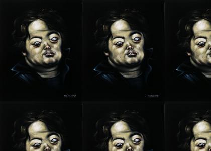 Brian Peppers in Velvet (Art)