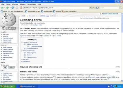 Wikipedia has good information about...